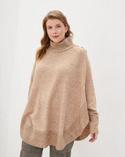 Бежевый свитер Zizzi