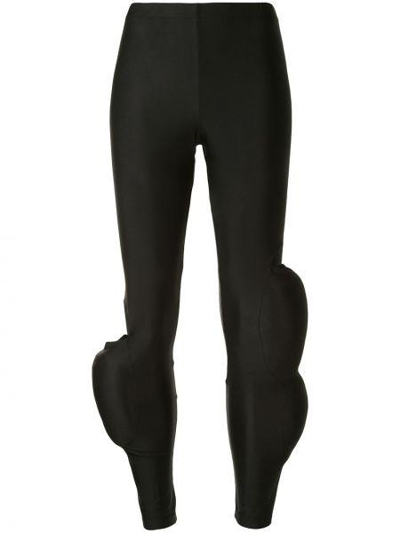 Черные брюки с поясом Comme Des Garçons