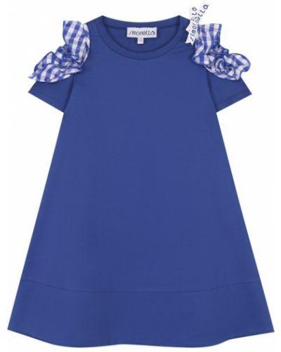 Платье с бантом кожаное Simonetta