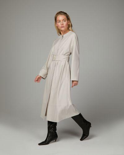 С рукавами платье с поясом свободного кроя 12storeez