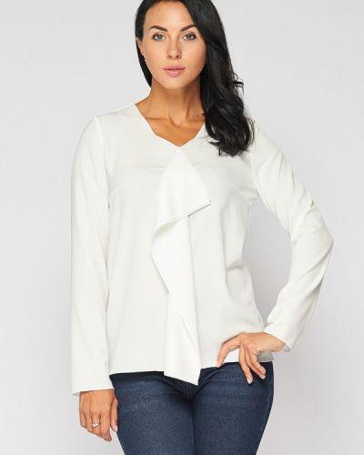 Блузка с длинным рукавом белая Lost Ink.
