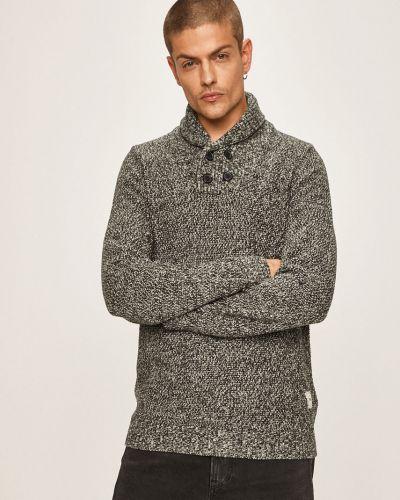 Sweter z kołnierzem na gumce Produkt By Jack & Jones