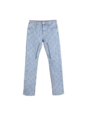 Mom jeans - niebieskie Givenchy