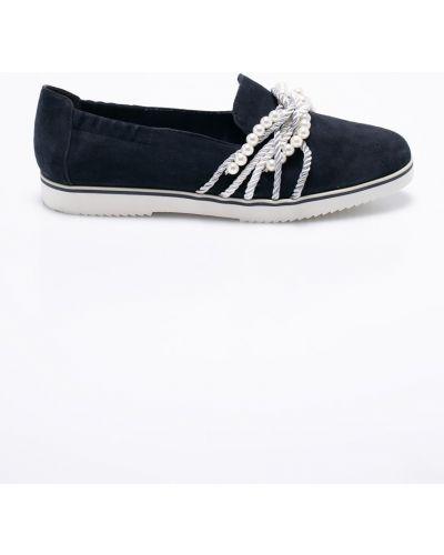 Кожаные туфли текстильные Tamaris