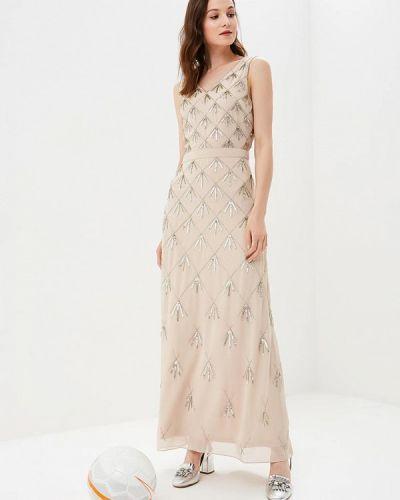 Бежевое вечернее платье Dorothy Perkins