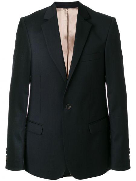 Темно-синий пиджак с вырезом A Kind Of Guise