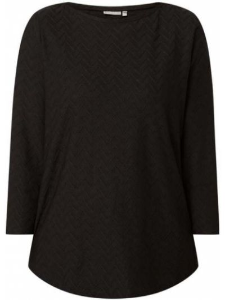 Czarna bluzka asymetryczna Fransa