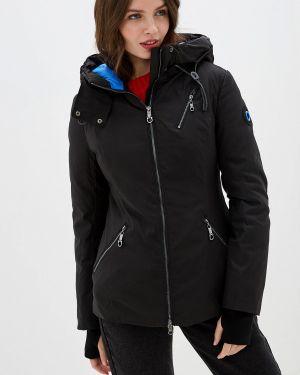Зимняя куртка утепленная черная Malinardi