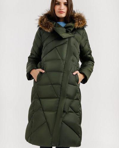 Стеганое пальто - зеленое Finn Flare