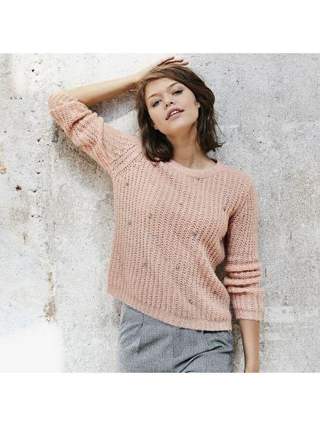 Пуловер шерстяной акриловый Suncoo