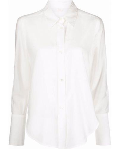 Шелковая рубашка - белая Tela