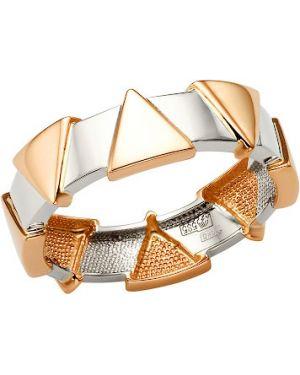 Кольцо серебряный из золота Badini