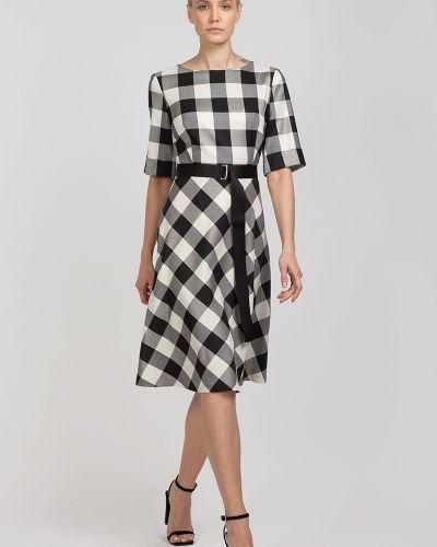 Платье классическое в клетку Vassa&co