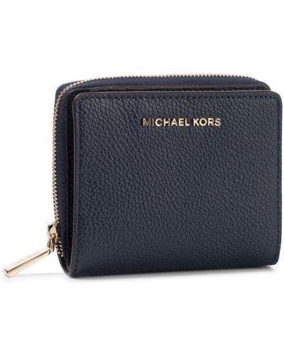 Portfel granatowy Michael Michael Kors