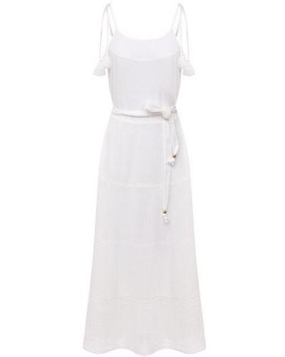 Хлопковое белое платье Melissa Odabash