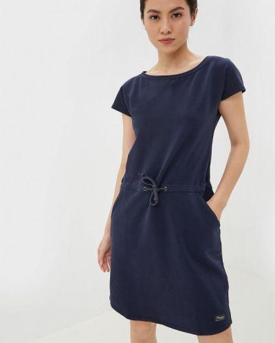 Платье футболка синее Bergans Of Norway