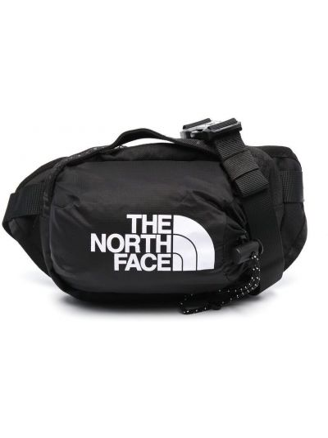 Czarny pasek z paskiem z printem The North Face