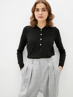 Черная пуловер Katya Erokhina