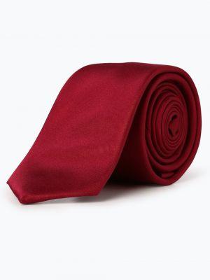 Krawat czerwony Finshley & Harding