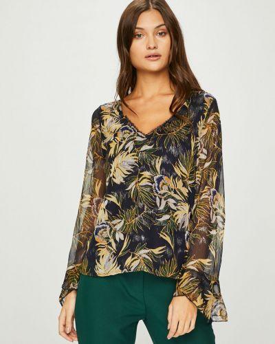Блузка с V-образным вырезом прямая Answear