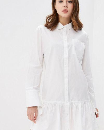 Белое платье рубашка Jennyfer