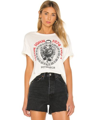 Beżowe jeansy bawełniane vintage Daydreamer