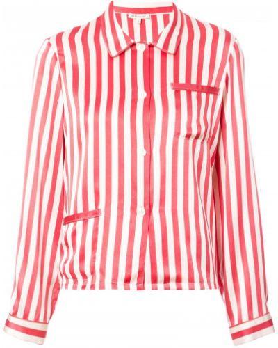 Красная пижама шелковая Morgan Lane