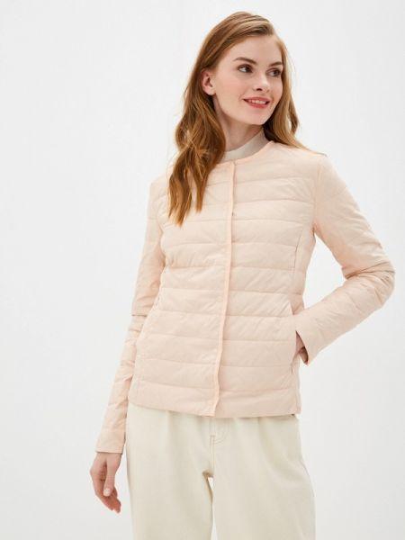 Зимняя куртка весенняя розовая Incity