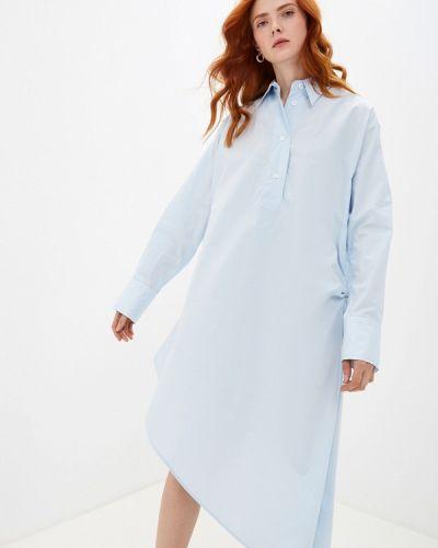 Платье платье-рубашка осеннее Mm6 Maison Margiela