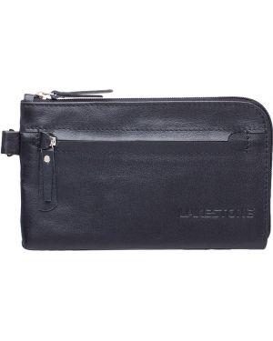 Клатч классический кожаный Lakestone