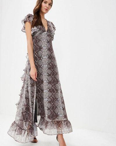 Вечернее платье весеннее серое Topshop