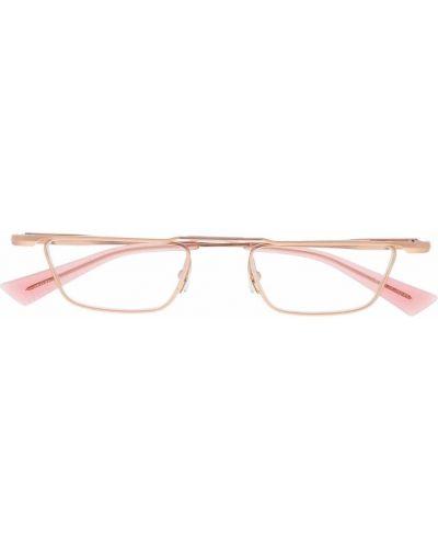 Złote różowe okulary Christian Roth