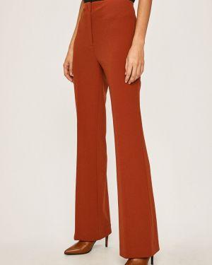 Spodnie z haftem z wzorem Dkny