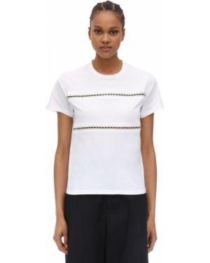 Рубашка с воротником-стойкой Moncler Genius