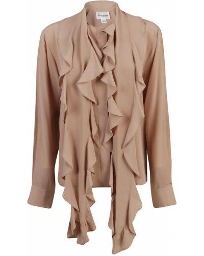 Bluzka z falbanami vintage Victoria Beckham