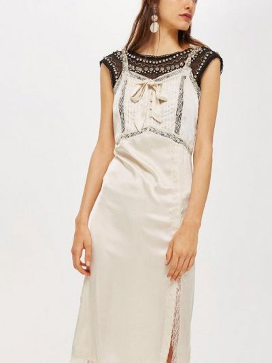 Платье осеннее прямое Topshop
