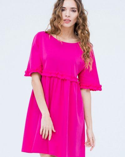Розовое платье весеннее Mascot