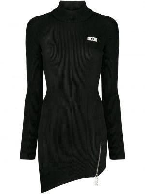 Платье макси длинное - черное Gcds