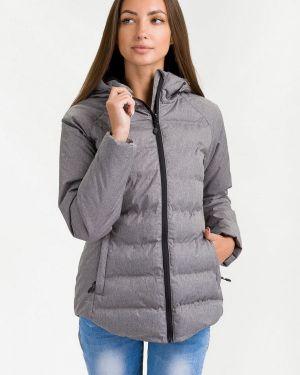 Утепленная куртка осенняя серая Hummel