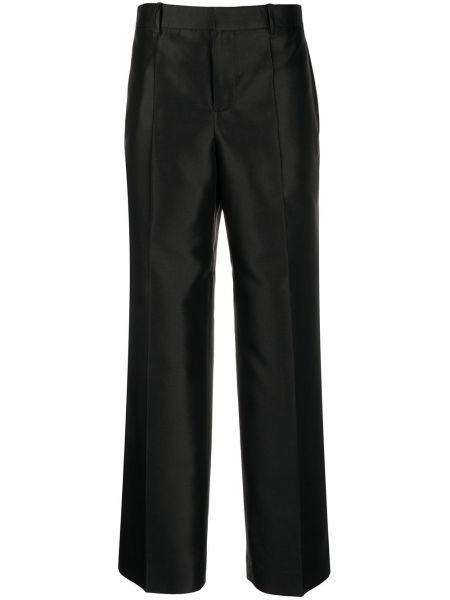 Bawełna spodni szerokie spodnie z kieszeniami z wiskozy Givenchy