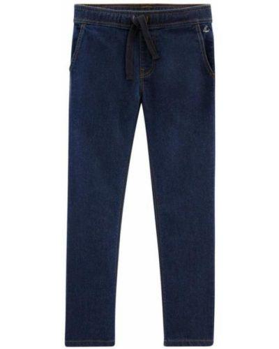 Niebieskie jeansy Petit Bateau