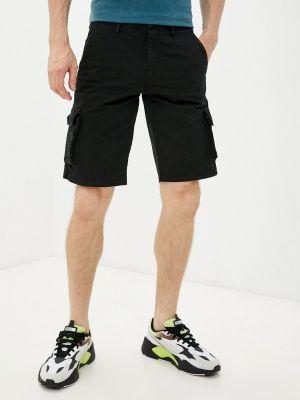 Черные повседневные шорты Angelo Bonetti