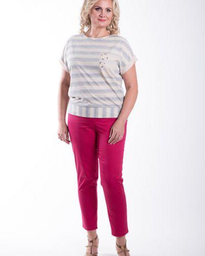 Блузка с люрексом в полоску Virgi Style
