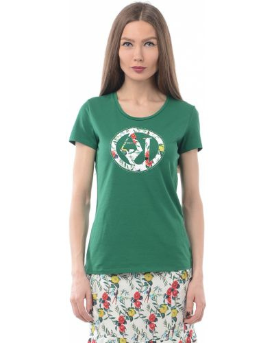Зеленая футболка Armani Jeans
