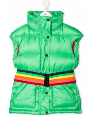 Зеленая куртка без рукавов Perfect Moment Kids