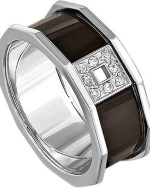 Кольцо серебряный с декоративной отделкой Kabarovsky