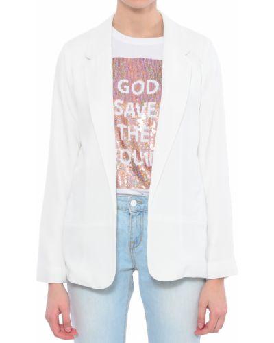 Пиджак из полиэстера - белый Silvian Heach