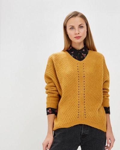 Желтый пуловер Moocci
