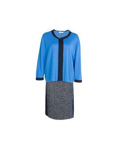 Шерстяной костюм - синий Giorgio Grati