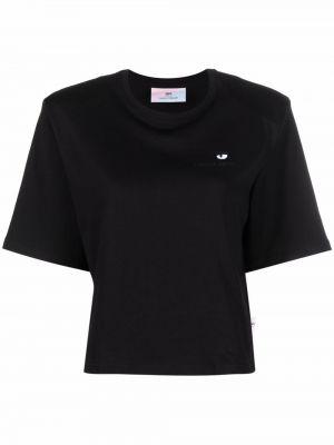 Черная футболка с круглым вырезом Chiara Ferragni